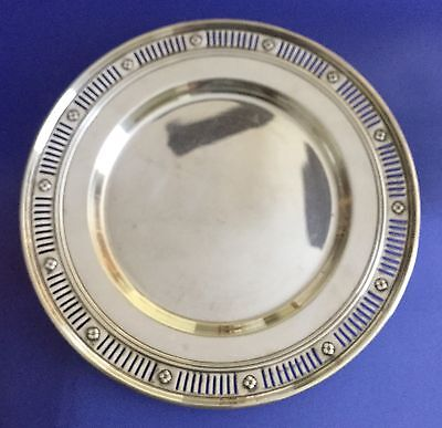 Sterling Silver Gorham Bread and Butter Plate, 6 1/8 Inches, 93Grams