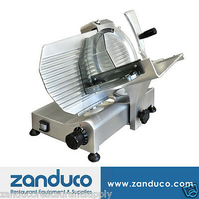 "Omcan Commercial Italian Deli Vegetable Meat Slicer 10"" Blade .25 HP Light Duty"