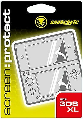 Snakebyte Screen Protection Kit Nintendo 3DS XL