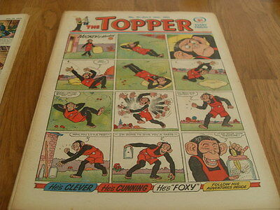 The Topper Comic Issue No 25 July 25Th 1953