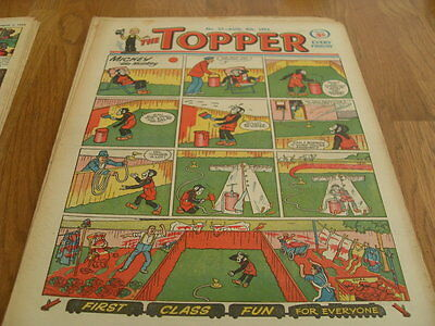 The Topper Comic Issue No 27 Aug 8Th  1953
