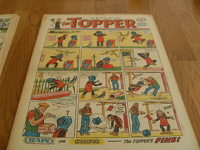 The Topper Comic Issue No 28 Aug 15Th 1953