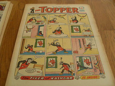 The Topper Comic Issue No 33 Sept 19Th 1953