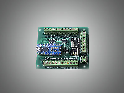 Automatic led stairs lighting controller arduino shield