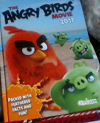 the angry birds movie 2017 annual .superb book .by centum
