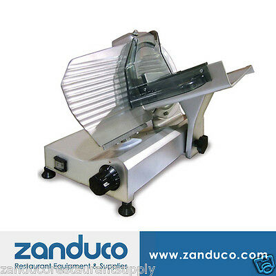 "Omcan Commercial Italian Deli Vegetable Meat Slicer 9"" Blade .25 HP Light Duty"