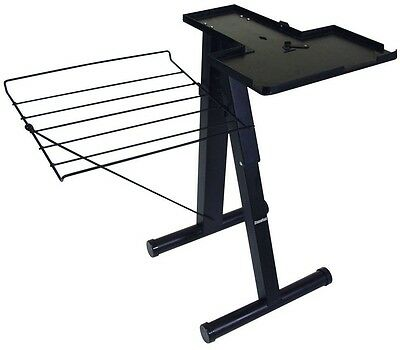 24 in. Steam Press Stand ONLY Free Standing Iron Clothes Garment Folding Board
