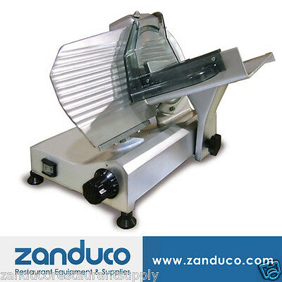 "Omcan Commercial Italian Deli Vegetable Meat Slicer 9""/220 mm Blade .25 HP ETL"