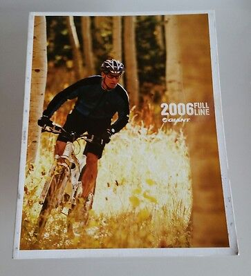 2006 Giant Bicycles Retail Catalog Brochure