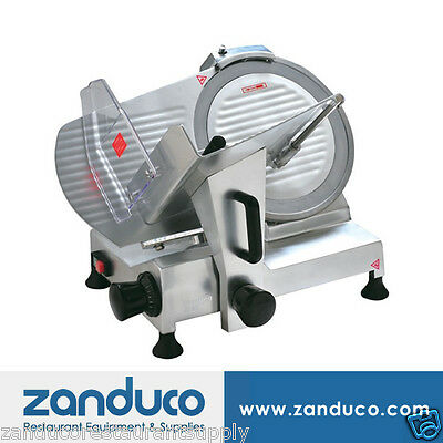 "Omcan Deli Vegetable Meat Slicer with 9""/220 mm Blade .16 HP ETL Approved"
