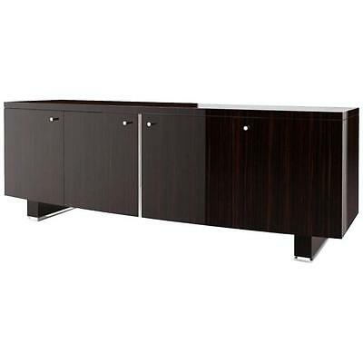 Monumental Ten Feet Long Credenza Sideboard By Dakota Jackson