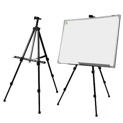 White Board Telescopic Field Studio Painting Easel Tripod Display Stand O6I2