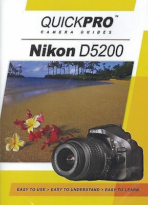 Nikon D5200 by QuickPro Camera Guides ( 1-1/2 Hour Tutorial DVD)