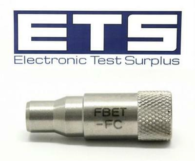 JDSU FBET-FC Fiber Optic Adapter For Scope Probe Inspection
