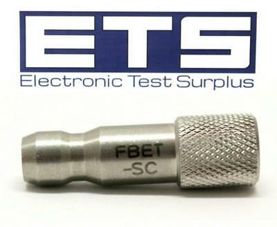 JDSU FBET-SC Fiber Optic Adapter For Scope Probe Inspection