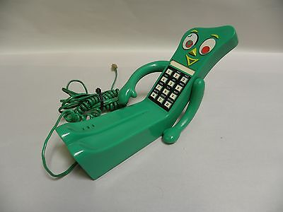 Vintage Gumby Figural Touchtone Telephone Phone (A7)
