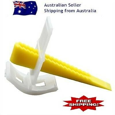 Tile Leveling System 500 CLIPS + 200 Wedges tile levelling system spacers floor