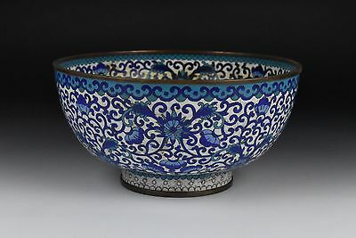19th Century Antique Chinese Cloisonne Bowl
