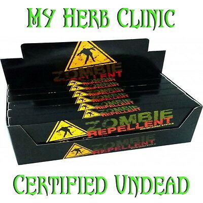 Zombie Repellent Incense 12 X15Gm Packets Fast Free Post Bulk Buy Certifd Undead