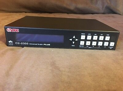 TV One C2-2355 Universal I/O Video Switcher/Scaler