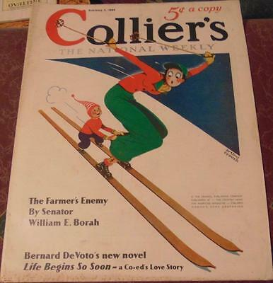 Collier's The National Weekly February 1, 1936