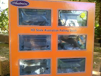 Austrains Pack CWD5 CW Cattle wagon pack of 6 BNIB