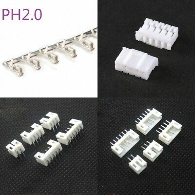 Straight /Right Angle Male Female Pin Header Housing Connector Terminal PH2.0mm