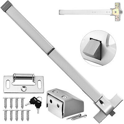 65cm Door Push Bar Panic Exit Device Lock With Handle Emergency Hardware Fast BE