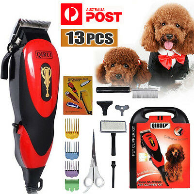 Electric Pet Clipper Kit Cat Dog Animal Hair Grooming Trimmer