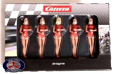 Carrera Grid Girls Set red (5 pce) 21113 Brand New