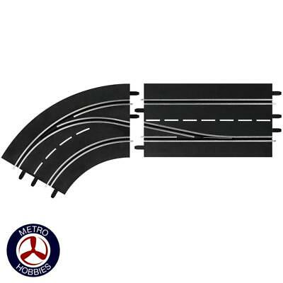 Carrera Digital 132/124 Lane Change Curve Left In to Out 30362 Brand New