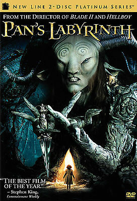 Pan's Labyrinth (DVD, 2007, 2-Disc Set, Special Edition)