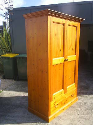 Country Style Wardrobe Made From Century Old Pine.  Armoire. English Country.