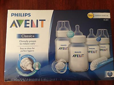 AVENT baby bottles pack 0+ months Brand New in Box