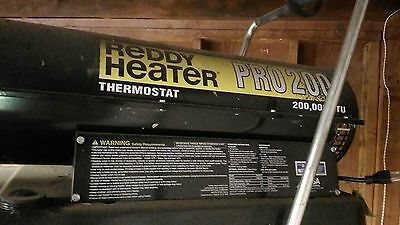 reddy heater 200,000 BTU   PICK UP ONLY