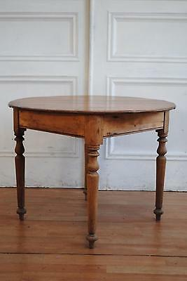 Antique Vintage Colonial Kauri Pine Breakfast Table - Farmhouse Kitchen
