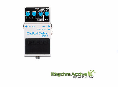 Boss Dd-3 Digital Delay Guitar Effect/s Fx Processor Foot Pedal By Roland Dd3