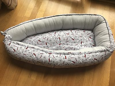Baby Nest for Newborn, travel, crib, cot, from 0-6, sleep, snuggle, toddler,soft