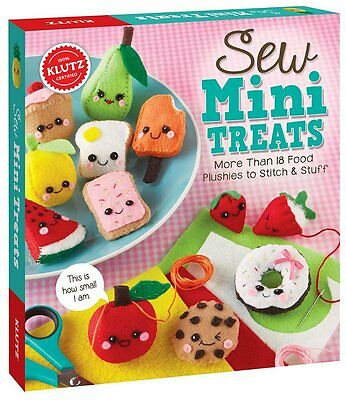 Cute Adorable Yummy Food Stitch Stuff Plushies Kids Sewing Craft Set