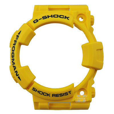 G-Shock Watch GWF-T1030E-9 30th Anniversary Frogman Resin Bezel Replacement