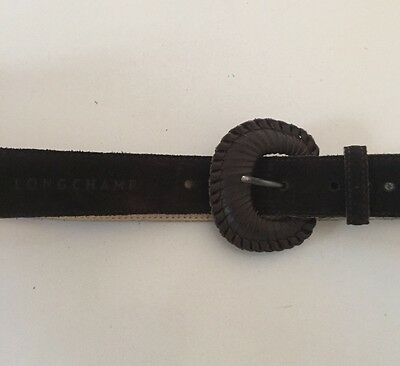 Longchamp Branded Belt Fits A Size 10, Adjustable And Brand New.