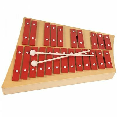 Angel 23 Note C2-A#3 Glockenspiel Musical Instrument Wooden Resonator Neu Sealed