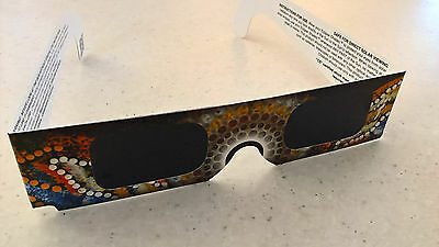 Approved Solar Eclipse or Sun Viewing Glasses - 1 Pair