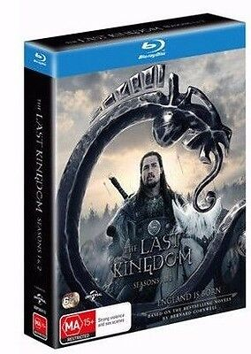 The Last Kingdom Complete Seasons 1 & 2 Brand New 6 Disc Blu-ray Box Set