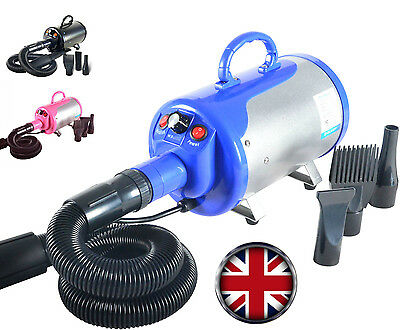 2800W Stepless Speed Dog Cat Pet Grooming Hair Dryer Hairdryer Blaster Blower