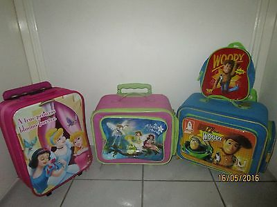 kids travel luggage - 3 cases