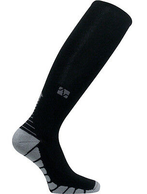 Vitalsox Graduated Compression VT1211 Performance Recovery Training Race BLACK