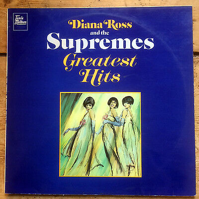Diana Ross and The Supremes – Greatest Hits - vinyl LP album (1967)