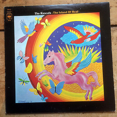 The Rascals – The Island of Real - vinyl LP album (1972)