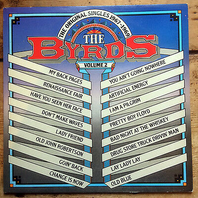 The Byrds – The Original Singles 1967-1969 Volume 2 - vinyl LP album (1982)